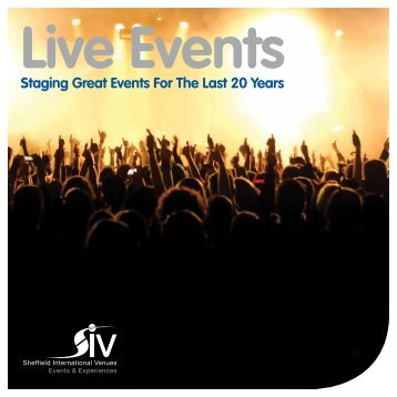 Live Events - SIV Events and Experiences
