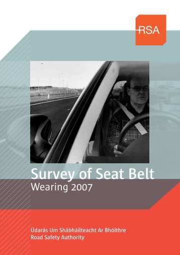 Survey of Seat Belt - Road Safety Authority