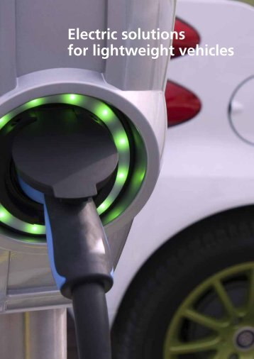 Solutions for lightweight vehicles Download pdf - Bonfiglioli