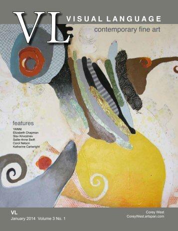 Visual Language Magazine Contemporary Fine Art Vol 3 No 1 January 2014