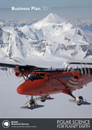 Business Plan 2011 - British Antarctic Survey