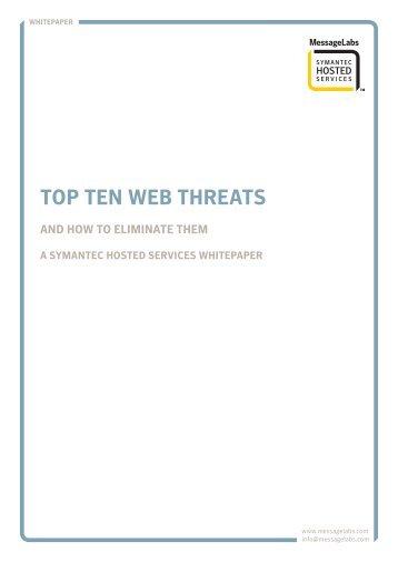Top ten web threats - PubblicaAmministrazione.net
