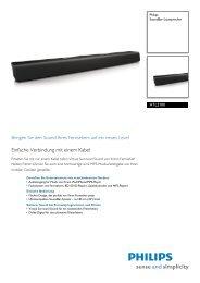 HTL2100/12 Philips SoundBar-Lautsprecher - Icecat.biz