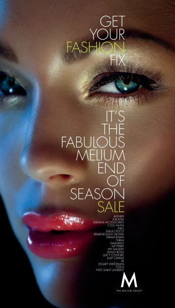 GET YOUR FASHION FIX IT'S THE FABULOUS MELIUM ... - Cards