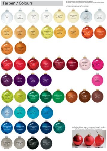 Farben / Colours