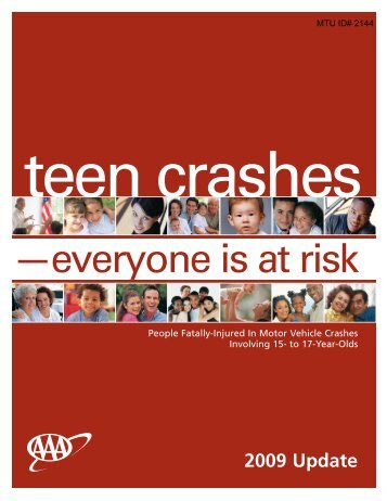 Teen Crashes: Everyone is at Risk - Michigan Tech Tribal Technical ...