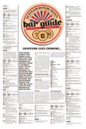 GRAPeviNe GoeS DRiNkiNG... -  The Reykjavik Grapevine