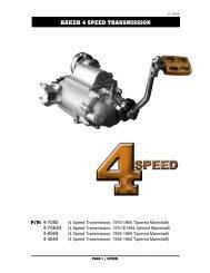 Jerico 5 Speed MVE 4 Spee