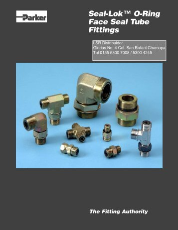Seal-Lok™ O-Ring Face Seal Tube Fittings zfc21 ... - LSR Distribuidor