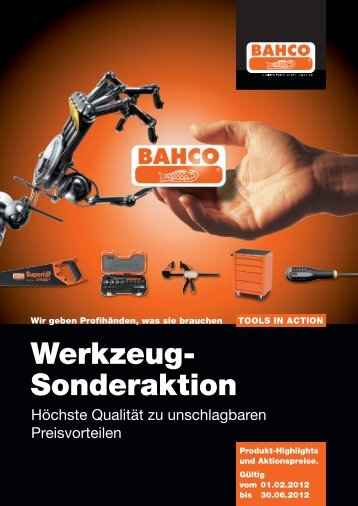 Bahco-Aktion