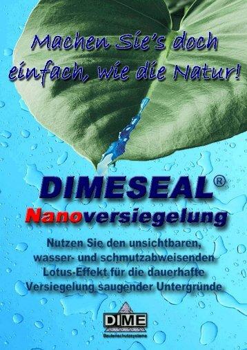 DIME Nanoversiegelung - DIME Flüssigkunststoffe, Inhaber D.R. ...