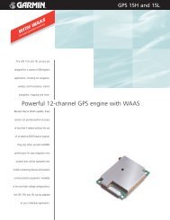 Download PDF Specs - Garmin