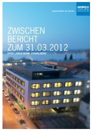 1. Quartalsbericht 31.03.2012 - Hypo Landesbank Vorarlberg