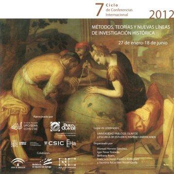 Programa - Escuela de Estudios Hispano-Americanos