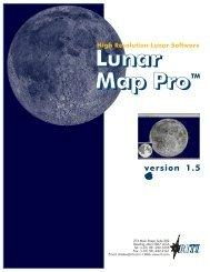 Lunar Map Pro 1.5 User Guide - Reading Information Technology Inc.