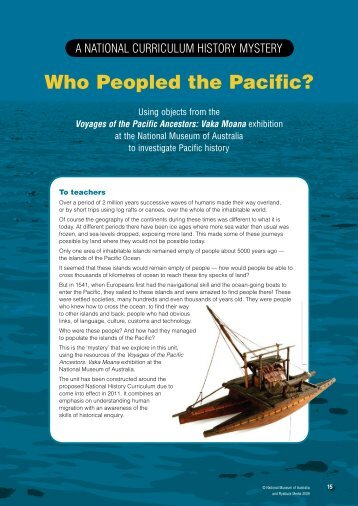 Who Peopled the Pacific? - Australian History Mysteries