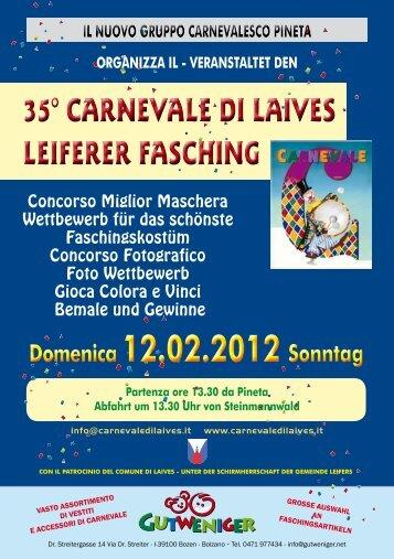 Domenica 12.02.2012 Sonntag Domenica 12.02.2012 Sonntag