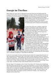 Energie im Überfluss - Skiclub Hinterzarten