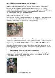 Bericht des Schießwesens 2008 vom Hegering 2 - Braunschweiger ...