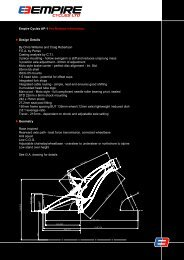 Empire Cycles AP-1 Pre-Release Information Design ... - krank.pl