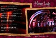Download my latest brochure - Martin Lake Roadshow
