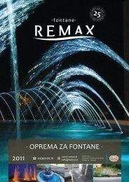 · OPREMA ZA FONTANE · 2011