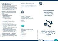 VPP Psychotherapeutinnen und -therapeuten in Ausbildung (PiA ...