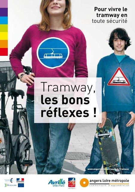 """Livret """"Tramway, les bons réflexes !"""" - 2 Mo - Angers Loire Métropole"""