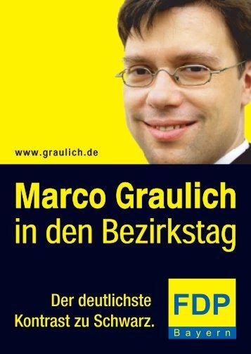 FDP-Flyer - Graulich, Marco