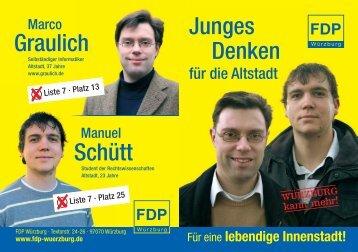 Wahlbroschüre - Graulich, Marco