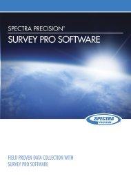 Spectra Precision Survey Pro Software.pdf - Accurate Instruments
