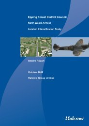 NW Airfield Study App I , item 30. PDF 2 MB - Epping Forest District ...