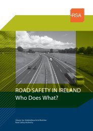 RSA -Who does What-9.indd - Road Safety Authority