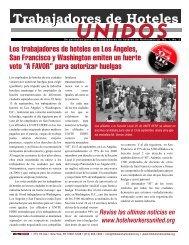 U N I D O S - Hotel Workers Rising