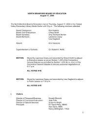 August 17, 2004 - North Branford Public Schools
