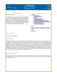 The MERCATOR Quarterly newsletter #7