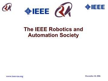 Ken Goldberg Vp Ta Ieee Robotics And Automation Society