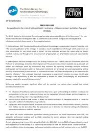 PRESS RELEASE Responding to the crisis that is ... - Antibiotic Action