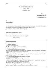 Nr 336. Sprawozdanie na temat projektu Traktatu ustanawiającego ...