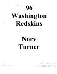 Washington Redskins Offense - Fast and Furious Football