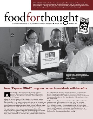 Express sNaP - Greater Chicago Food Depository
