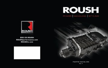 Roush Parts Catalog - Diehl Ford