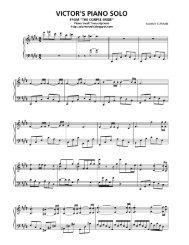 Corpse Bride – Victor's Piano Solo (2) – Danny Elfman