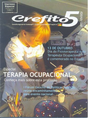 Revista Julho/Agosto/Setembro 2006 - Crefito5