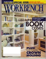 built-in bookcases - Wood Tools