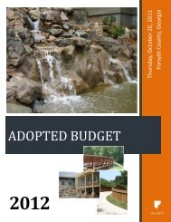 2012 Adopted Budget - Forsyth County Government