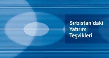 Sırbistan'daki Yatırım Teşvikleri - Siepa