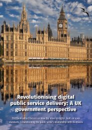 Digitising Government
