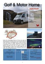 Golf & Motor Home - Island Tours Deutschland