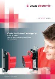 Optische Datenübertragung DDLS 200 - Leuze electronic